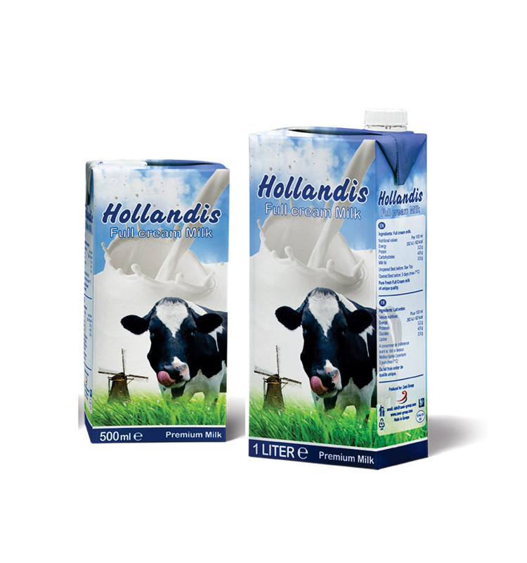HeptaFoil UHT Milk Packaging
